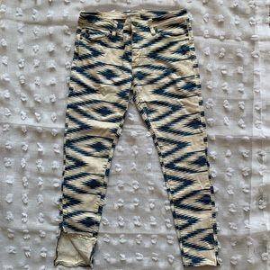 Ralph Lauren patterned jeans